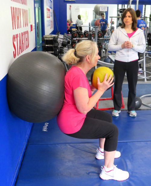 squat-exercise-over-50s-personal training-solihull